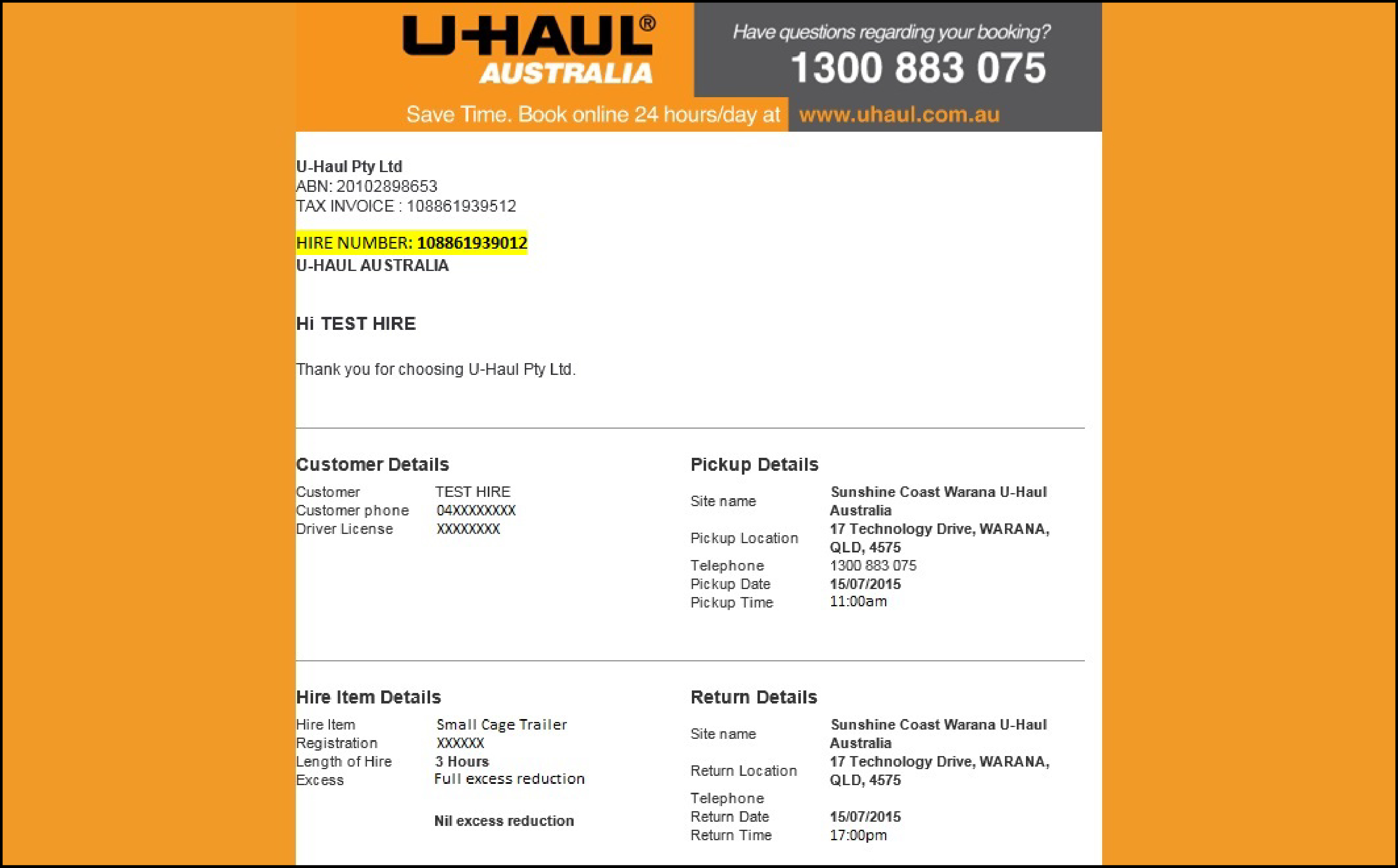 U-HAUL Trailer Hire - Australia Wide Trailer Rental